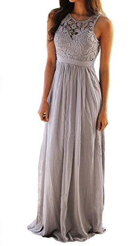 RBwinner Womens Bridesmaid Dresses Sleeveless with Lace Corset Long Evening Backless Cocktail Gowns Dress Long Gown