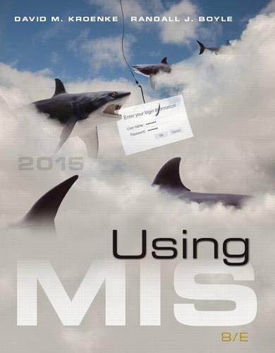 Using MIS (8th Edition)