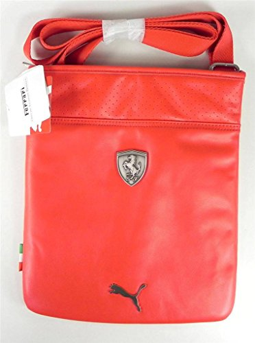 PUMA Men s Ferrari Long Sleeve Magazine Bag, Red, One Size - Buy ... 61321eb271
