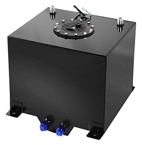 DNAMotoring ALU-FT-T2-BK Aluminum 5-Gallon Fuel Cell Gas Tank