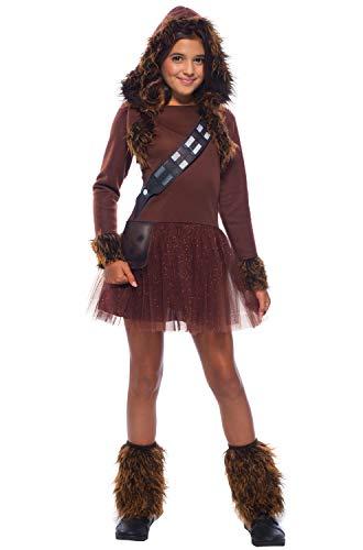 Rubie's Girls Star Wars Classic Chewbacca Costume, Medium