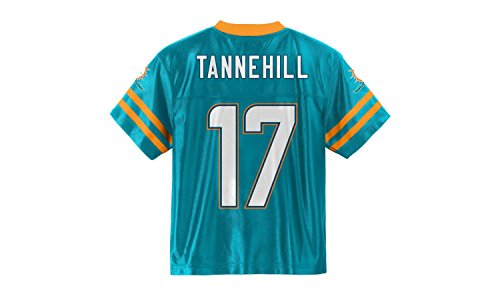 Ryan Tannehill Miami Dolphins Aqua Home Player Jersey Youth (Large 12/14)