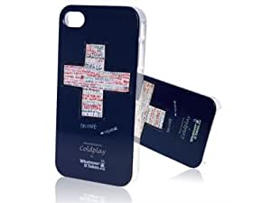 Whatever it takes cubierta protectora Coldplay azul para Apple iPhone 4/4S