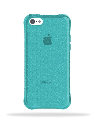 new product 9d3e6 a3860 Ballistic LS Jewel Series Case for iPhone 5c (Blue Glitter)