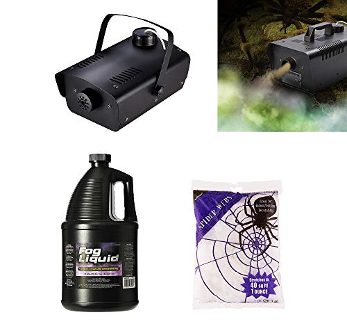 (Party City Fog Machine Halloween Kit, Party Supplies and Special Effects, Includes 1 Gallon Fog)