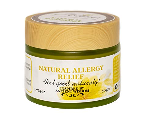 Natural Allergy Relief to Relieve Blocked Runny Nose Sneezing Watery Bloodshot Eyes Headaches Cough suppressant occuring from Seasonal Year Long Allergies Natural Healthy Wellness Alternatives (Best Otc For Runny Nose)