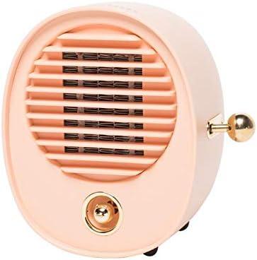Niyake Mini Ventilador Calefactor Cermicomini Calentador Hogar Silencioso Dormitorio Estudiantil Calentador Instantáneo-Polvo: Amazon.es: Hogar