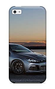 High Impact Dirt/shock Proof Case Cover For Iphone 5c (volkswagen Scirocco 31)