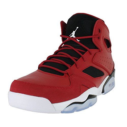 Jordan 555475-600: Flight Club 91 Mens Gym Red/White/Black Sneakers (10 D(M) US (Flight Club)
