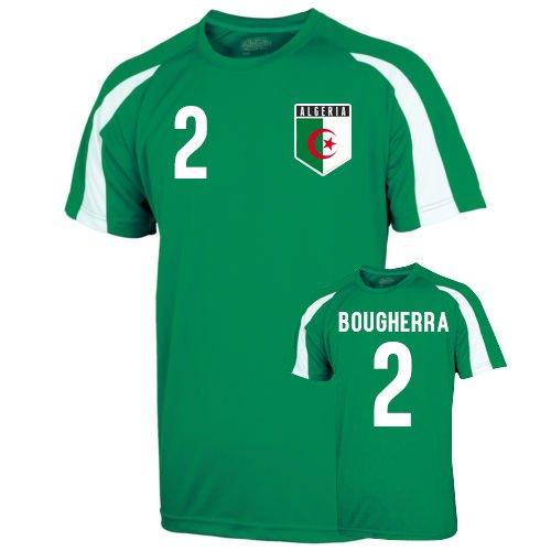 Algeria Sports Training Jersey (bougherra 2) B01LZPQ513Green XL (45-48\