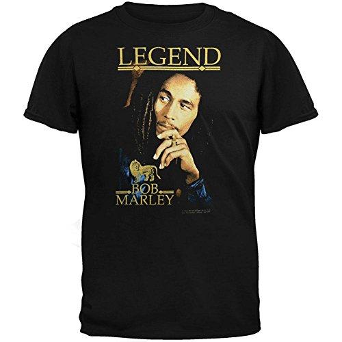 Bob Marley - Boys Legend Youth T-Shirt Youth Large Black