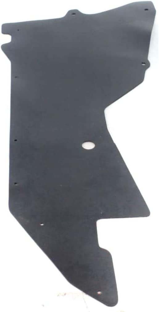 648373S510 Under Cover For Nissan Frontier Engine Splash Shield 1999 00 01 02 03 2004 Driver Side NI1228112