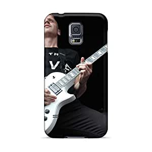 Excellent Hard Phone Cases For Samsung Galaxy S5 (PHh4044ajtW) Allow Personal Design Nice Black Veil Brides Band BVB Series