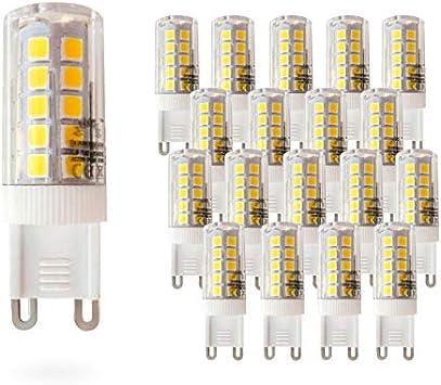 Pack de 20 Bombillas LED Bajo Consumo MOSCU G9 · Lámpara LED ...