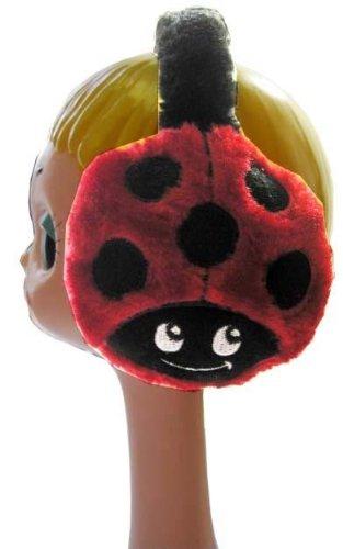Ladybug Ear Muffs Earmuffs Lady Bug