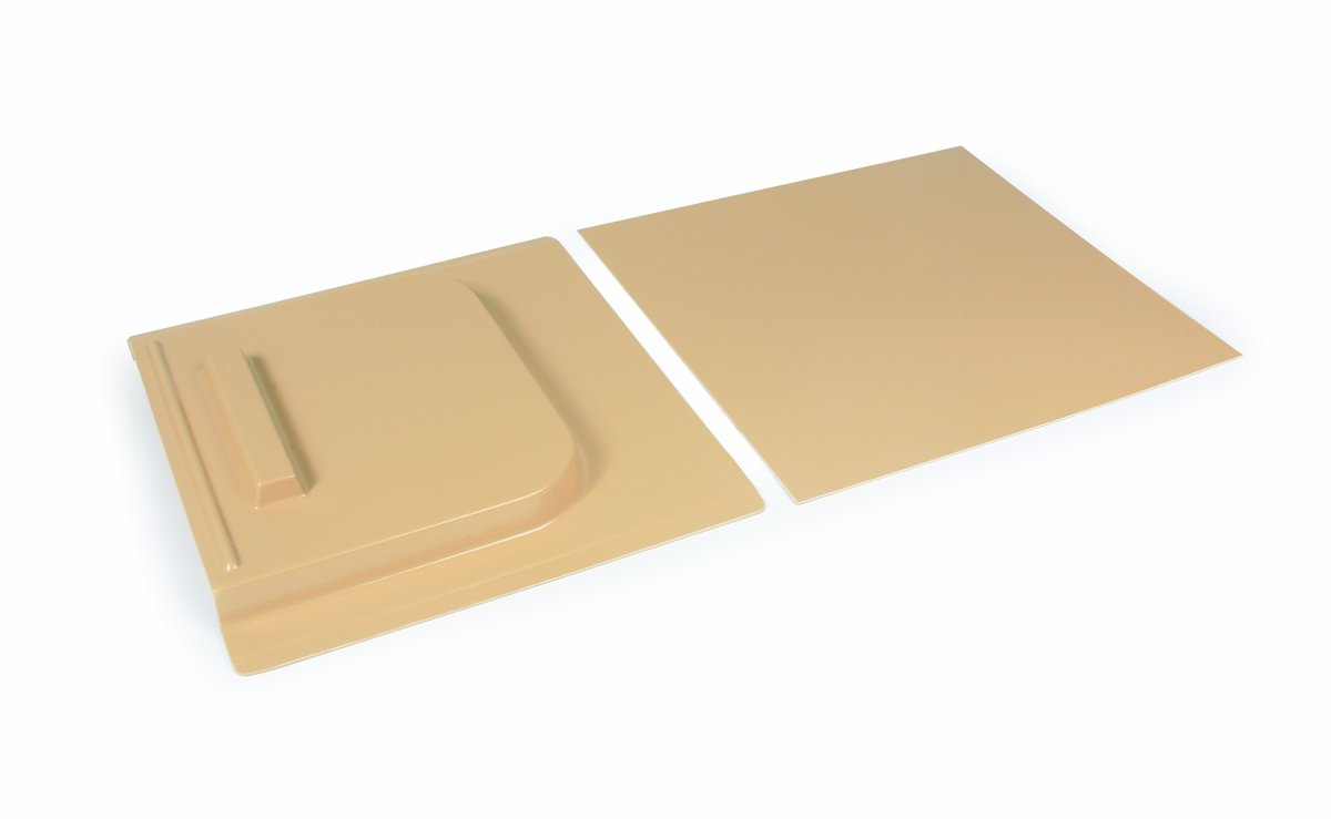 Camco 45593 Screen Door Slide Set (12' x 28', White)