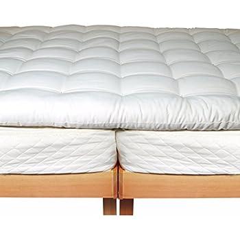 Amazon Com Bio Sleep Concept Organic Wool 3 Inch Eastern