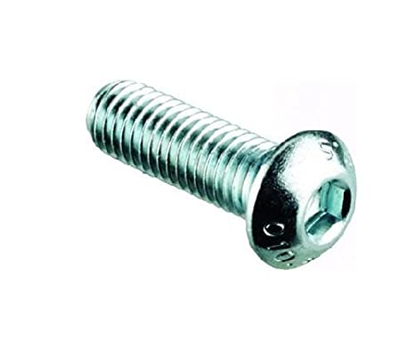 6mm Tornillos cabeza de Botón / Tornillos (20 Pack) M6 x ...