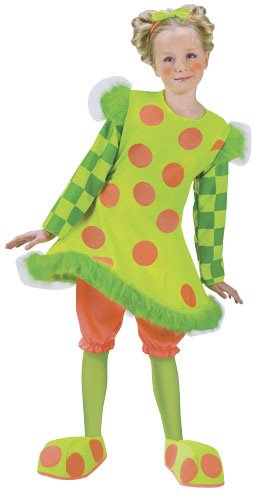 Little Girls' Lolli The Clown Costume - S