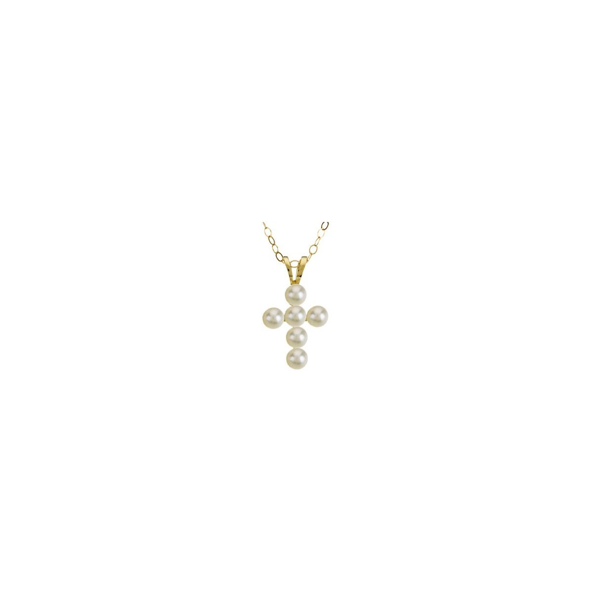 Amazon Eternity Wedding Bands Cultured Freshwater Youth Pearl Cross Necklace In 14k Yellow Gold Jewelry: Wedding Band With Cross Pendant At Websimilar.org