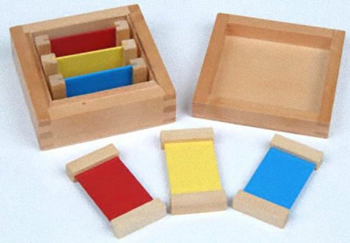 Montessori Color Tablets First Box, 1st - 1st Mail Class International