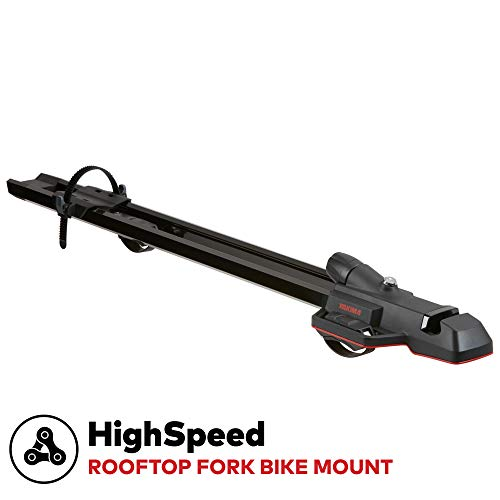 Yakima - HighSpeed Fork Mount Bike Carrier for Roof Racks, 1 Bike Capacity