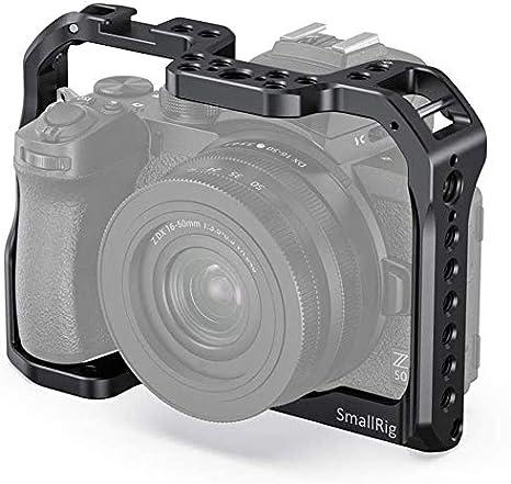 SMALLRIG Cage Jaula para cámara Nikon Z50 - CCN2499: Amazon.es ...