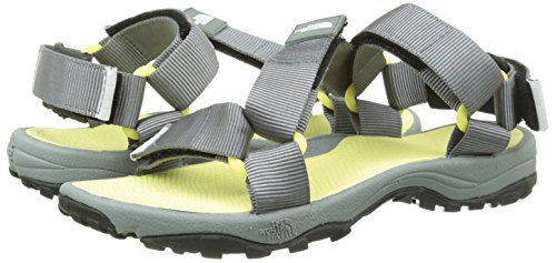 chiffon North Grey Sandales Femme Face Yellow Litewave Multicolore monument The Rnx8aa