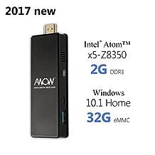 AWOW Windows 10 Mini PC Stick Computer with Intel Atom Quad Core Wifi HDMI