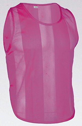 10x Markierungshemden/Trainingsleibchen 6 Farben - 3 Größen lieferbar (Pink, Senior)