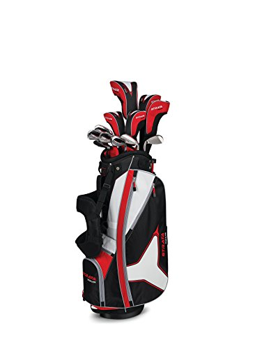 Callaway Men's Strata Tour Complete Golf Set, Prior Generation (18-Piece, Right Hand, Stiff Flex)