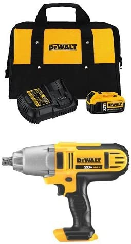 DeWalt 20V Max 5.0 Ah Battery Starter kit with DCB115 Charger /& Bag Kit DCB205CK