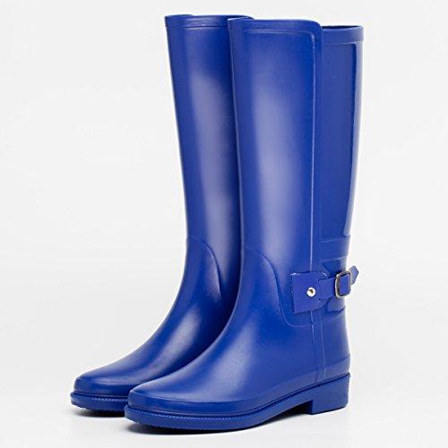 botas oto lluvia ora de impermeable o Blue e invierno se xwSqCZB