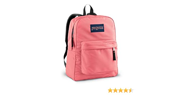 Amazon.com : JanSport T501 Superbreak Backpack - Coral Sparkle : Basic Multipurpose Backpacks : Sports & Outdoors