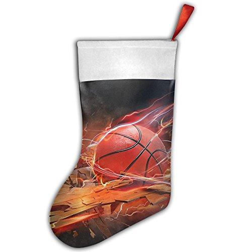 PKEIWE Amazing Basketball Crash Christmas Stocking Home Party Decorate
