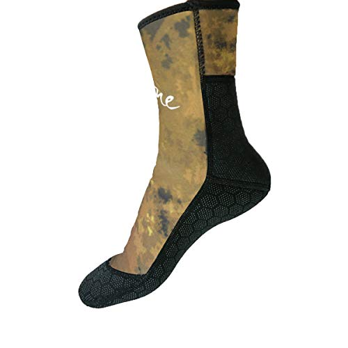 Layatone Diving Socks Adults 3mm Neoprene Socks Boots Surfing Swimming Beach Water Wetsuit Socks Boots Non-Silp Spearfishing Boots Shoes Socks Men Women
