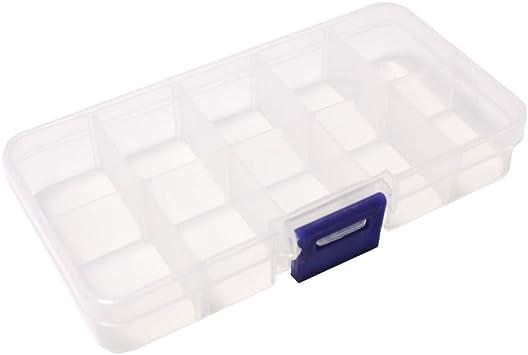Best - Caja clasificadora para componentes electrónicos de 10 compartimentos: Amazon.es: Electrónica