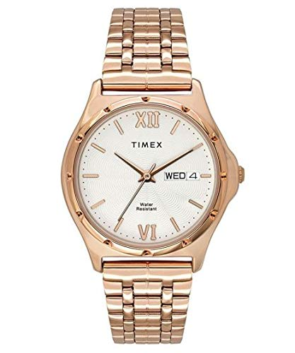 Timex Analog Silver Dial Men's Watch TW000BW09