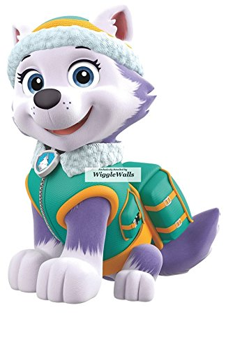 7 Inch Everest Paw Patrol Girl Pup Wall Decal Sticker Pups