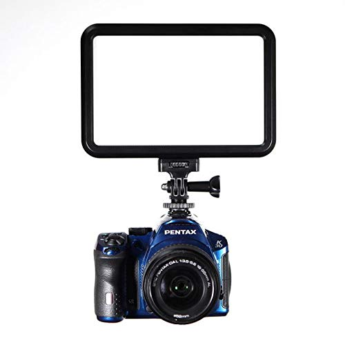GE-12L 12w Video Compact LED Panel Photography Lighting Video Camera Light for DSLR Camera DV Camcorder