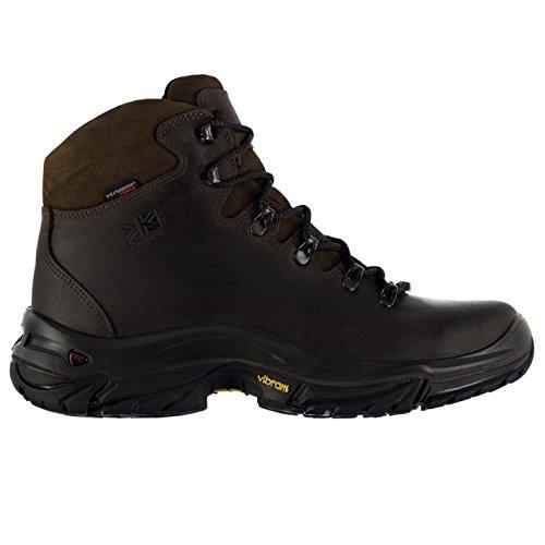 Karrimor Mens Gents Cheviot Impermeabile Escursionismo Escursioni Allaperto Scarpe Stivali Marroni 8 (42)