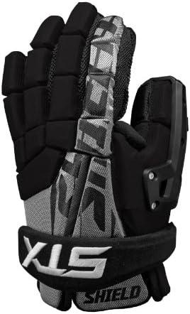 STX Lacrosse Shield Goalie Glove, Black, 25cm