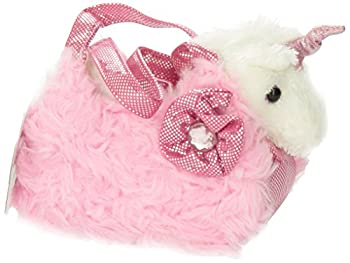 Aurora World Fancy Pals Plush Pink Pet Carrier 4
