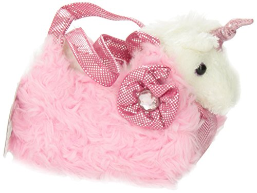 Aurora World Fancy Pals Plush Pink Pet Carrier by Aurora (Image #4)