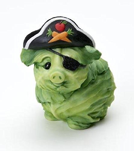 Homegrown Cabbage (Home Grown Halloween Cabbage Dog Pirate 4017526)