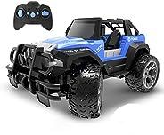 DEERC DE42 Remote Control Car RC Racing Cars,1:18 Scale 80 Min Play 2.4Ghz LED Light Auto Mode Off Road RC Tru