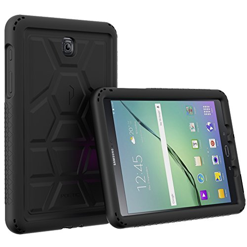 Galaxy Tab A 8.0 (2015) Case - Poetic TurtleSkin Series[Corner Protection][Tactile Side Grip][Sound-Amplification][Bottom Air Vents] Protective Silicone Case for Samsung Galaxy Tab A 8.0 (2015)