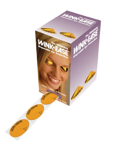Wink Ease Indoor Tanning Bed Eye Wear Protection 250 count
