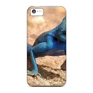 Flexible Tpu Back Case Cover For Iphone 5c - Lizard