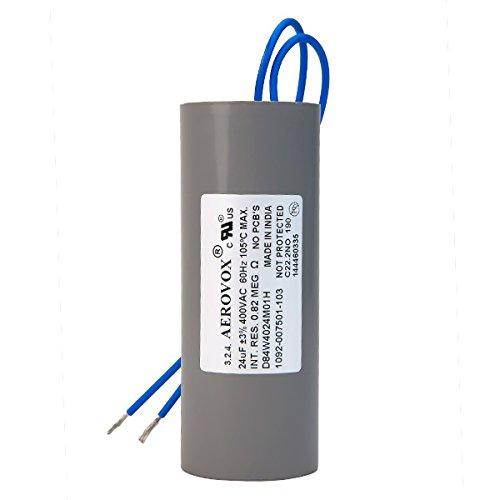 400VAC Dry HID Lighting Capacitor 24 Microfarads Aerovox D84W4024M01H